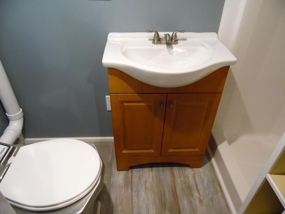 Bathroom - Crosswinds by Upper Valley Tiny Homes
