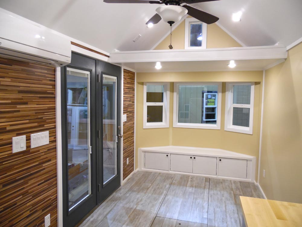 Living Area - Crosswinds by Upper Valley Tiny Homes