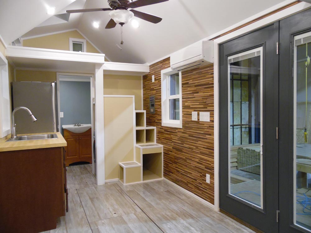 French Doors - Crosswinds by Upper Valley Tiny Homes