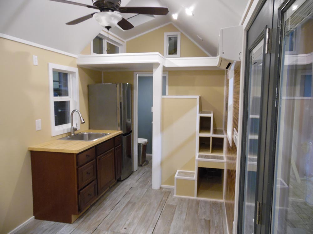 Kitchen - Crosswinds by Upper Valley Tiny Homes
