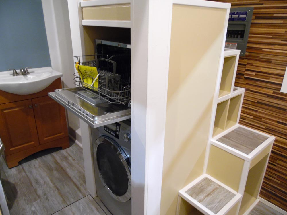 Dishwasher & Washer/Dryer - Crosswinds by Upper Valley Tiny Homes