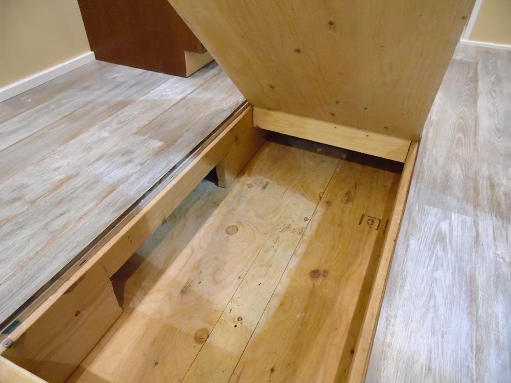 Floor Storage - Crosswinds by Upper Valley Tiny Homes