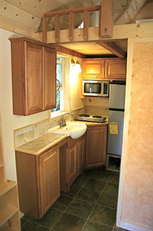 Kitchen - Dormer Loft Cottage by Molecule Tiny Homes