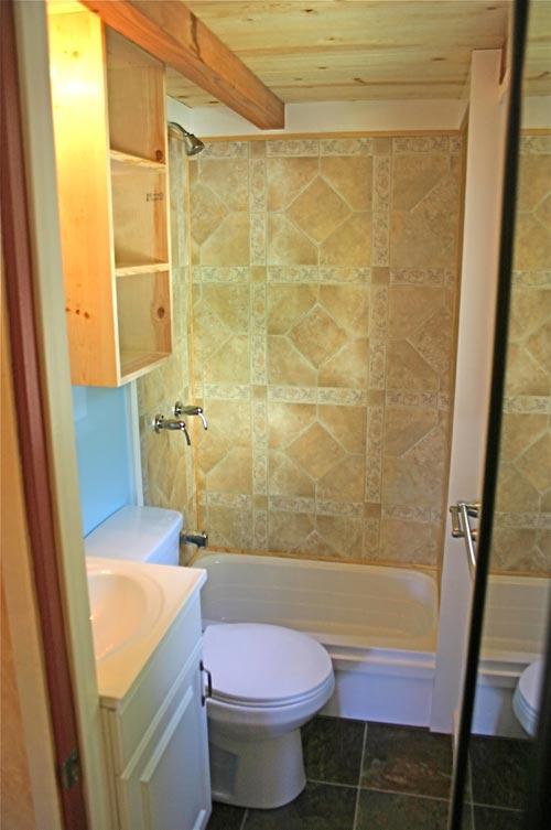 Bathroom - Dormer Loft Cottage by Molecule Tiny Homes
