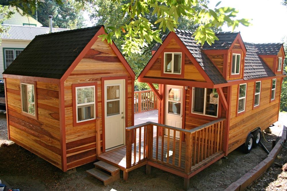 Companion Studio - Dormer Loft Cottage by Molecule Tiny Homes