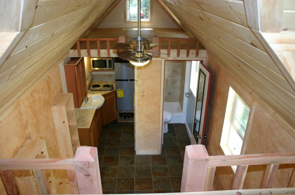 View From Loft - Dormer Loft Cottage by Molecule Tiny Homes