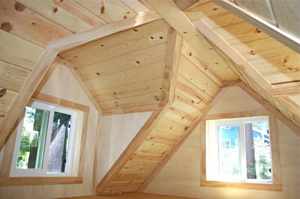 Gabled Dormers - Dormer Loft Cottage by Molecule Tiny Homes