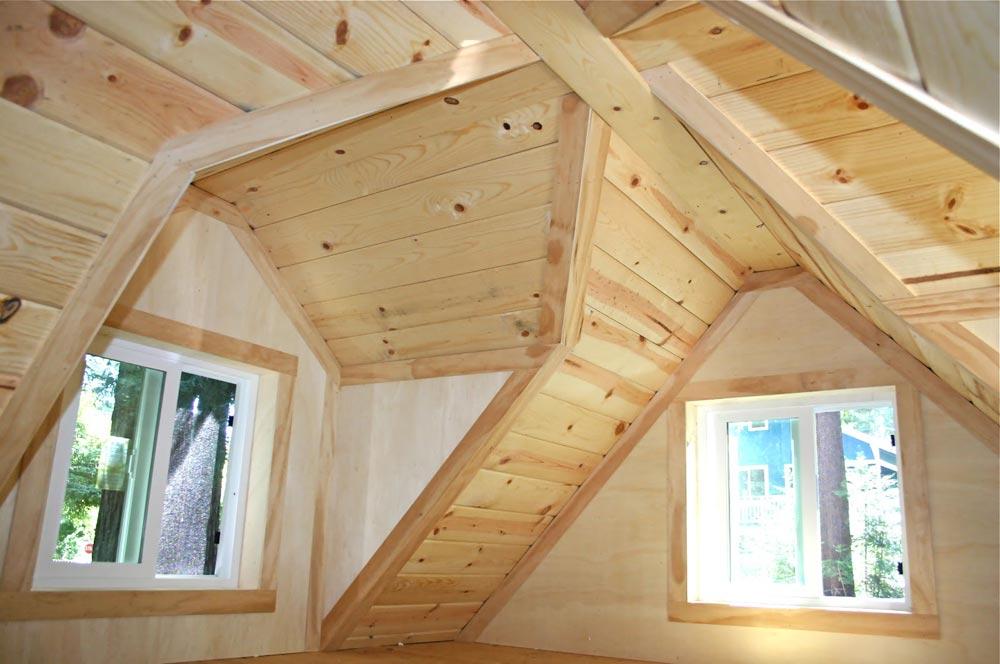 Gabled Dormers - Dormer Loft Cottage by Molecule Tiny Homes