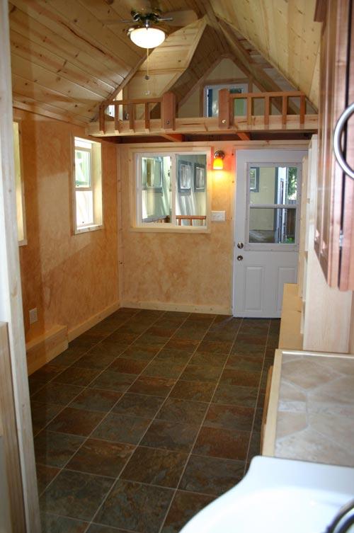 Living Area - Dormer Loft Cottage by Molecule Tiny Homes