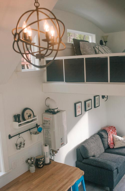 View From Loft - Esket Tiny House