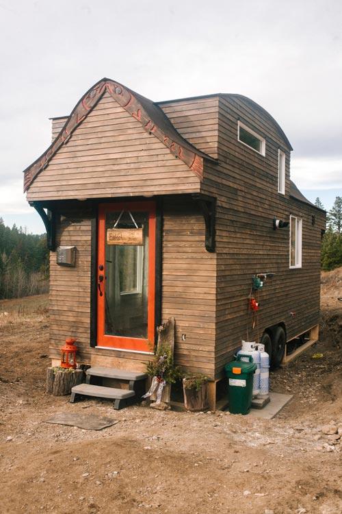 Two Exterior Doors - Esket Tiny House