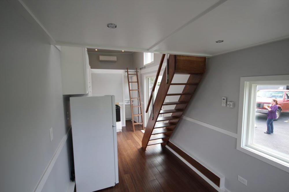 Loft Stairs and Ladder - Everest by Titan Tiny Homes