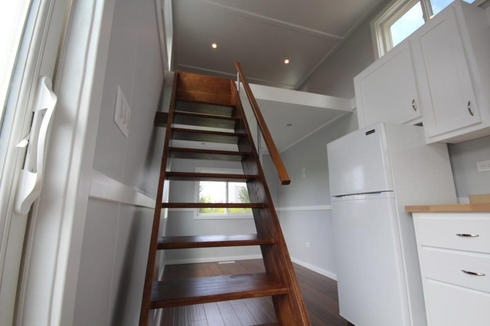 Loft Stairs - Everest by Titan Tiny Homes