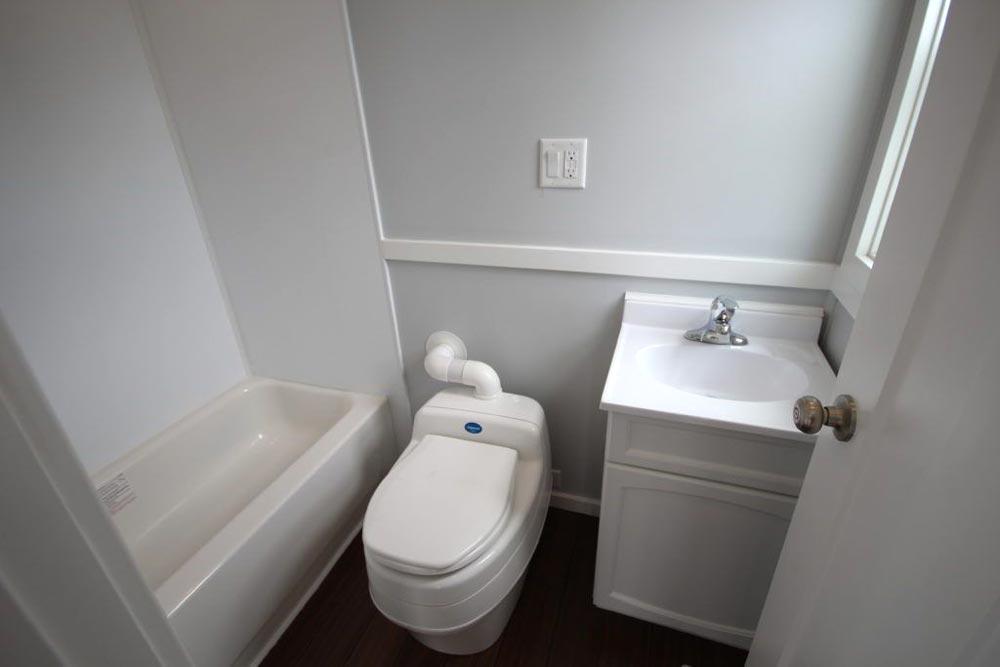 Bathroom - Everest by Titan Tiny Homes