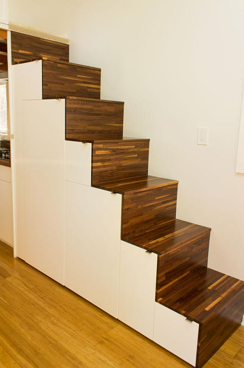 Tansu Stairs - Hikari Box by Shelter Wise