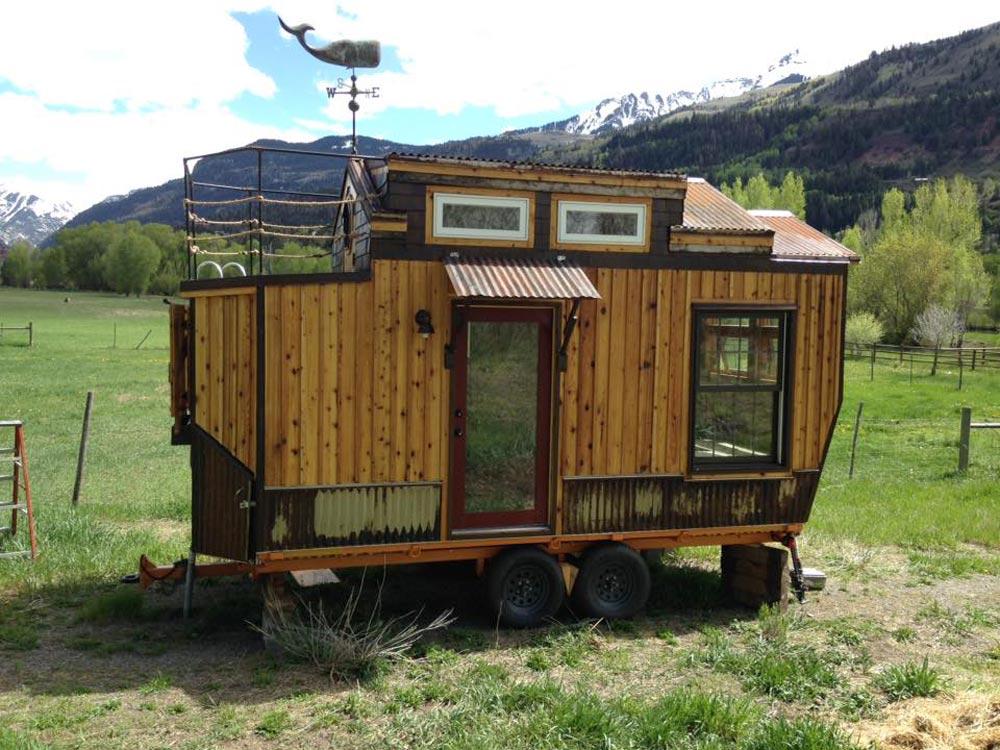 18' Tiny House - Nautical Mountain House by Jeremy Matlock