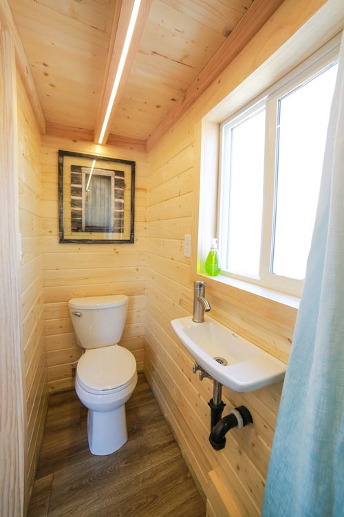 Bathroom - Mansion Jr by Uncharted Tiny Homes