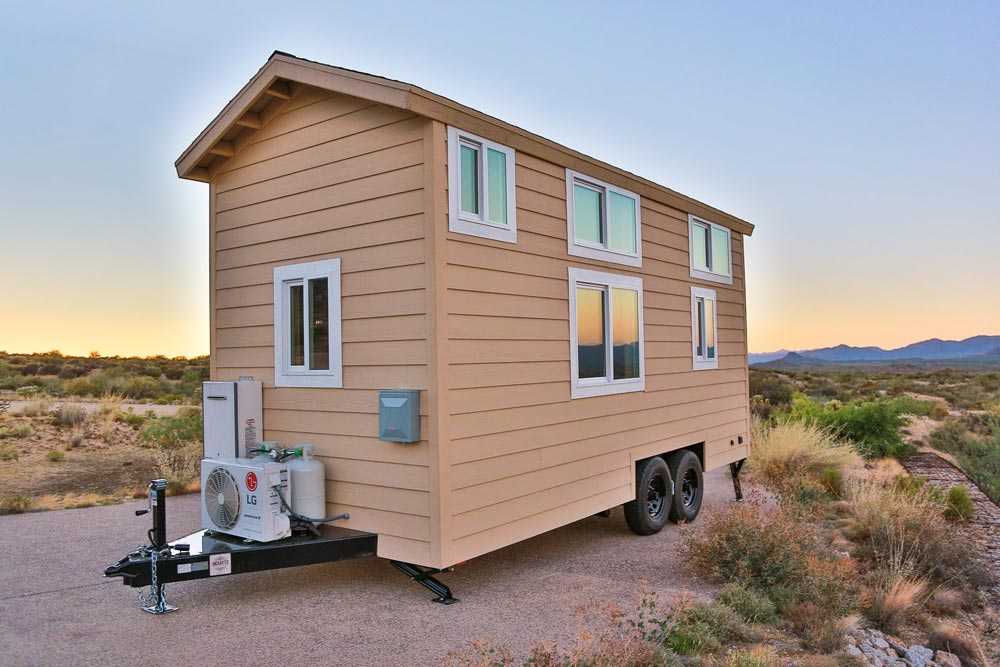 230 sq.ft. Tiny House - Mansion Jr by Uncharted Tiny Homes