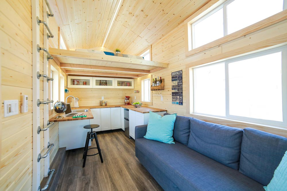 Tiny House Interior - Mansion Jr by Uncharted Tiny Homes