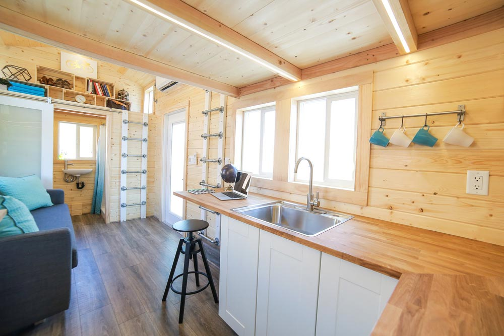 Kitchen Sink - Mansion Jr by Uncharted Tiny Homes