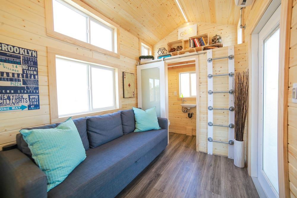 Living Area - Mansion Jr by Uncharted Tiny Homes