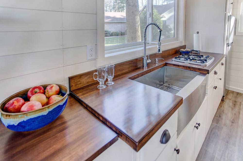 Maple Butcher Block Counter - Mohican by Modern Tiny Living