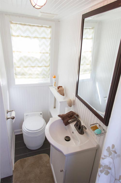 Bathroom w/ Window - Music City by Tennessee Tiny Homes