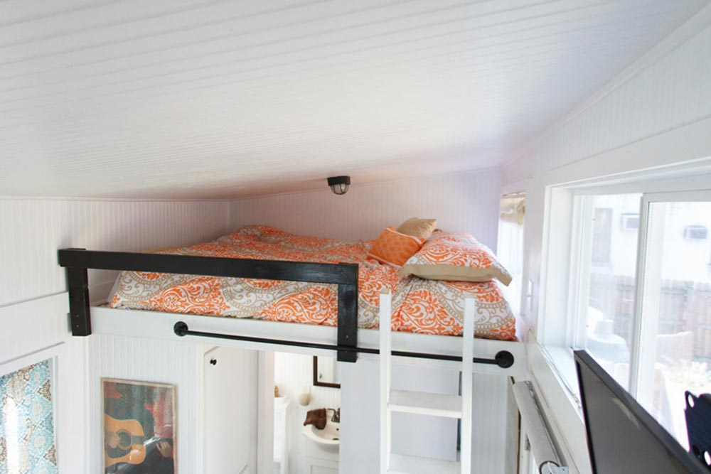 Bedroom Loft w/ Ladder Access - Music City by Tennessee Tiny Homes