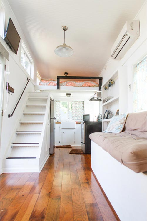 Music city tiny house by tennessee tiny homes tiny living - Interior home design for small houses ...