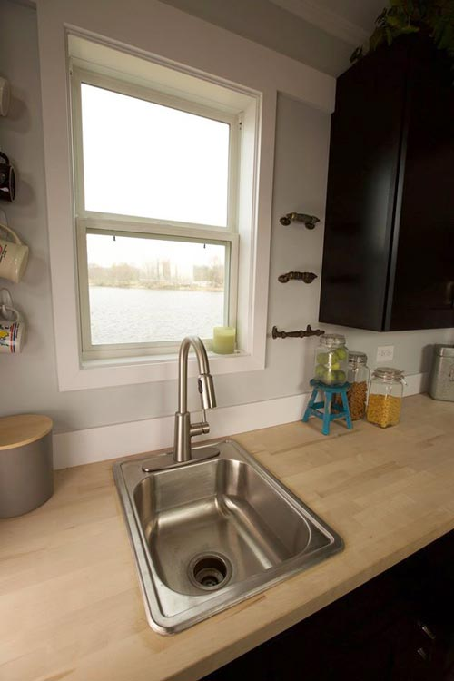 Kitchen Sink - Notarosa by Titan Tiny Homes