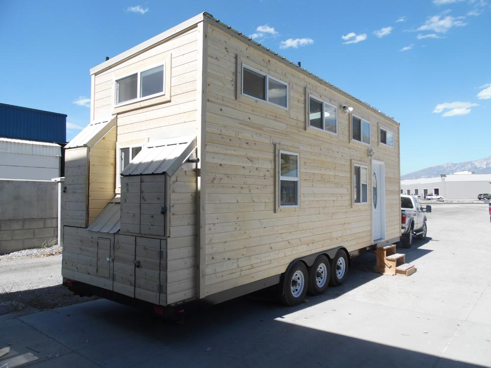 Tongue & Groove Exterior Siding - 30' Off Grid by Upper Valley Tiny Homes