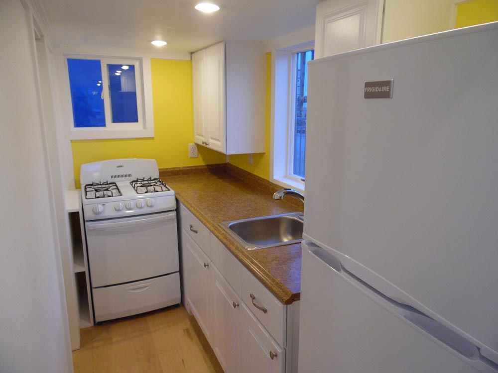 Kitchen - 30' Off Grid by Upper Valley Tiny Homes