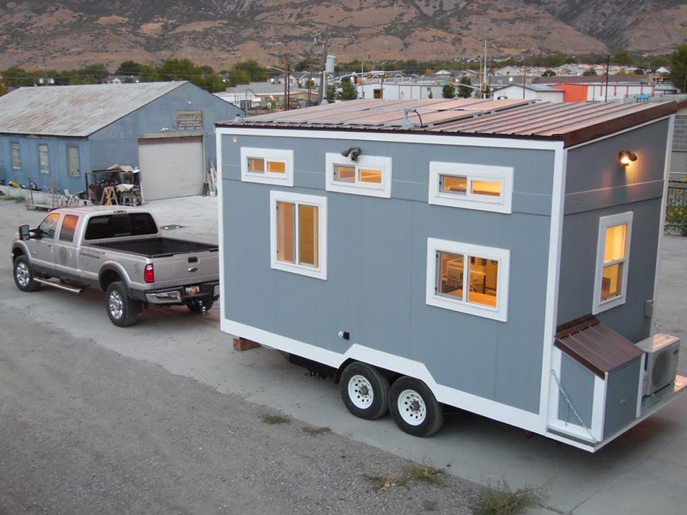 Rear View - 18' Off Grid by Upper Valley Tiny Homes