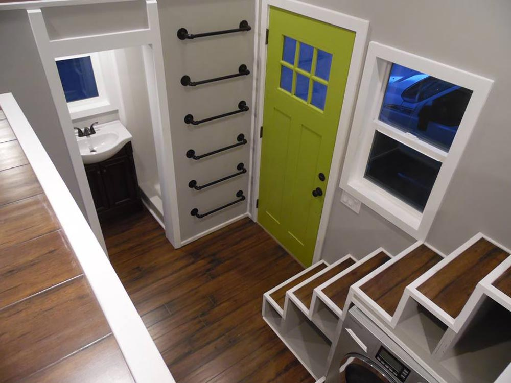 Entryway - 18' Off Grid by Upper Valley Tiny Homes
