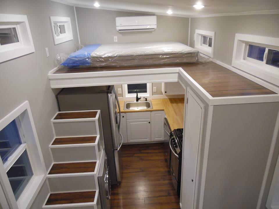 Aerial View - 18' Off Grid by Upper Valley Tiny Homes