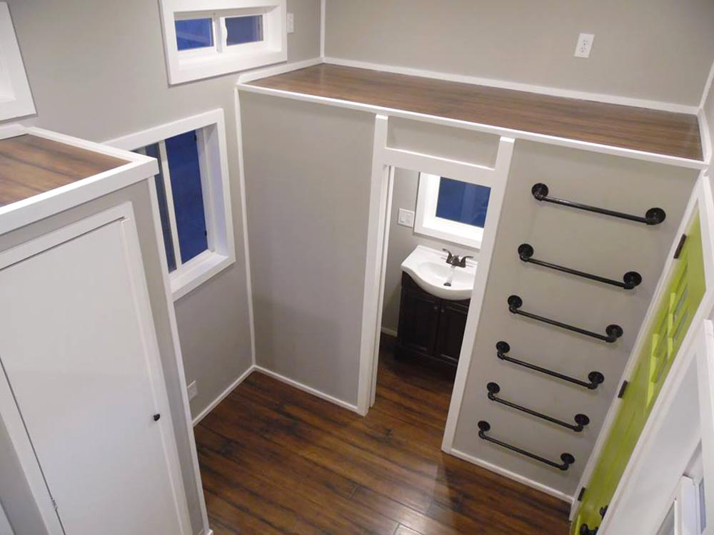 View From Loft - 18' Off Grid by Upper Valley Tiny Homes