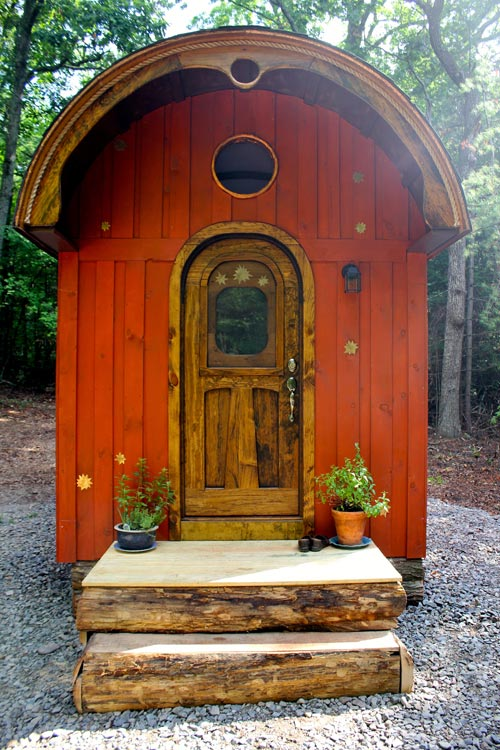 Pine Siding & Live Edge Porch - Old Time Caravan by The Unknown Craftsmen