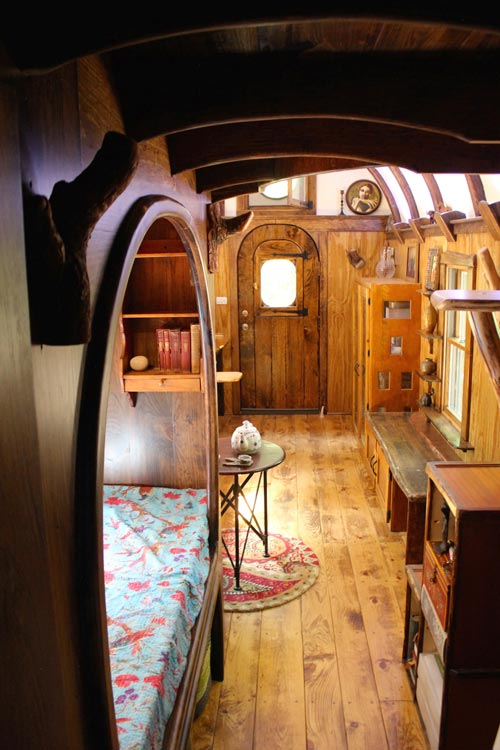 View Toward Entryway - Old Time Caravan by The Unknown Craftsmen