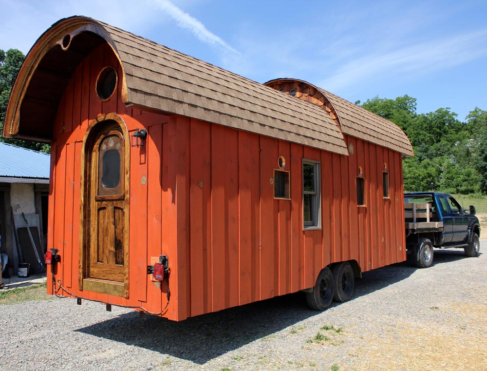 24' Tiny House - Old Time Caravan by The Unknown Craftsmen