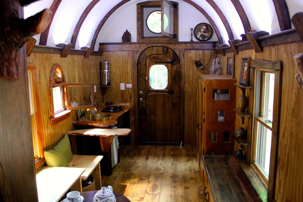 Kitchen & Custom Shelving - Old Time Caravan by The Unknown Craftsmen