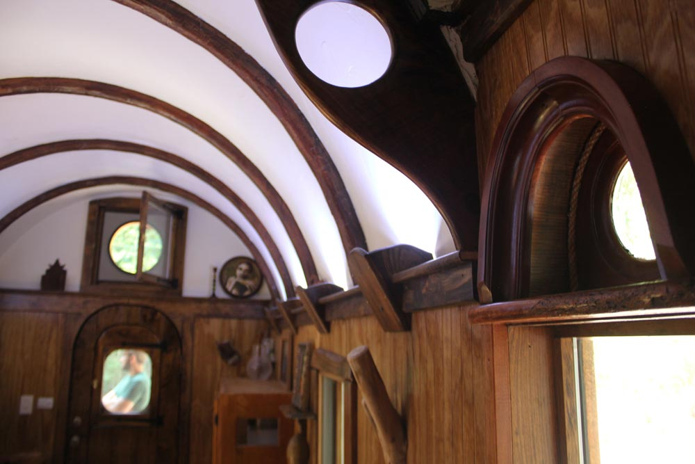 Curved Roof - Old Time Caravan by The Unknown Craftsmen