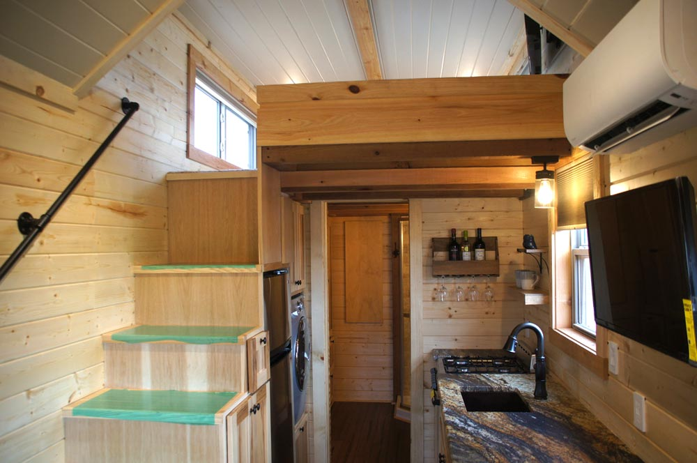 Tiny House Interior - Prairie Schooner by Wander Homes