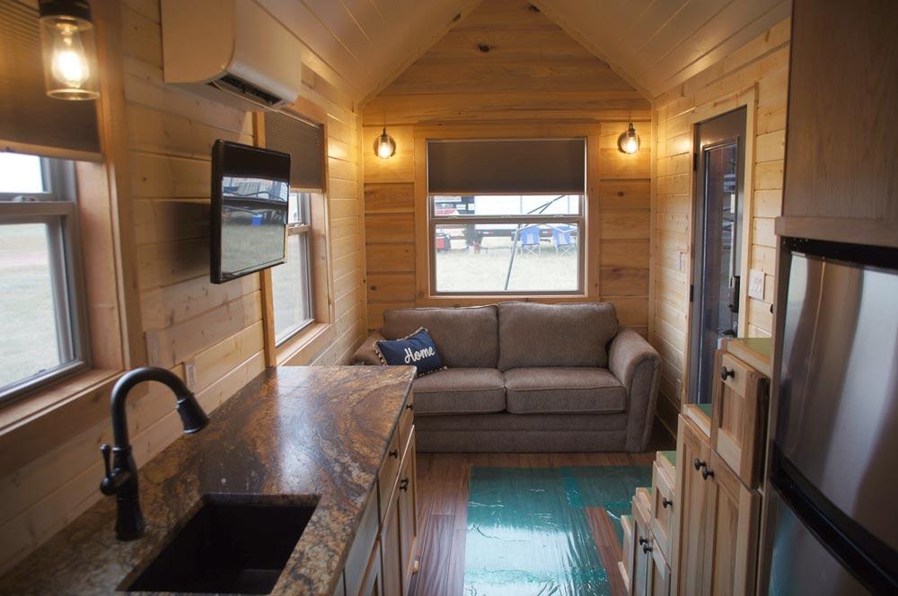 Kitchen & Living Area - Prairie Schooner by Wander Homes
