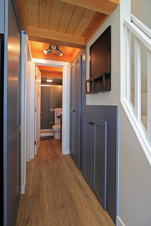 Hallway Storage - Salish by West Coast Homes