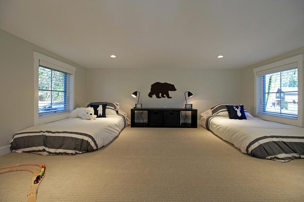 Bedroom Loft - Salish by West Coast Homes
