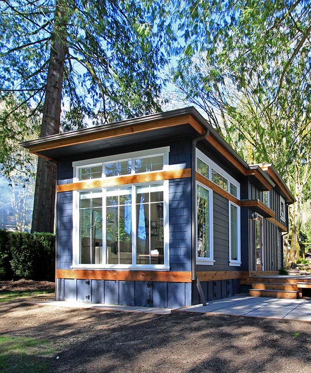 Salish West Coast Homes Tiny Living