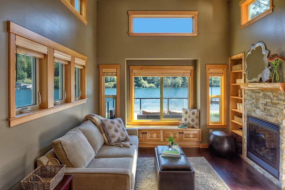 Living Room w/ Fireplace - San Juan by West Coast Homes