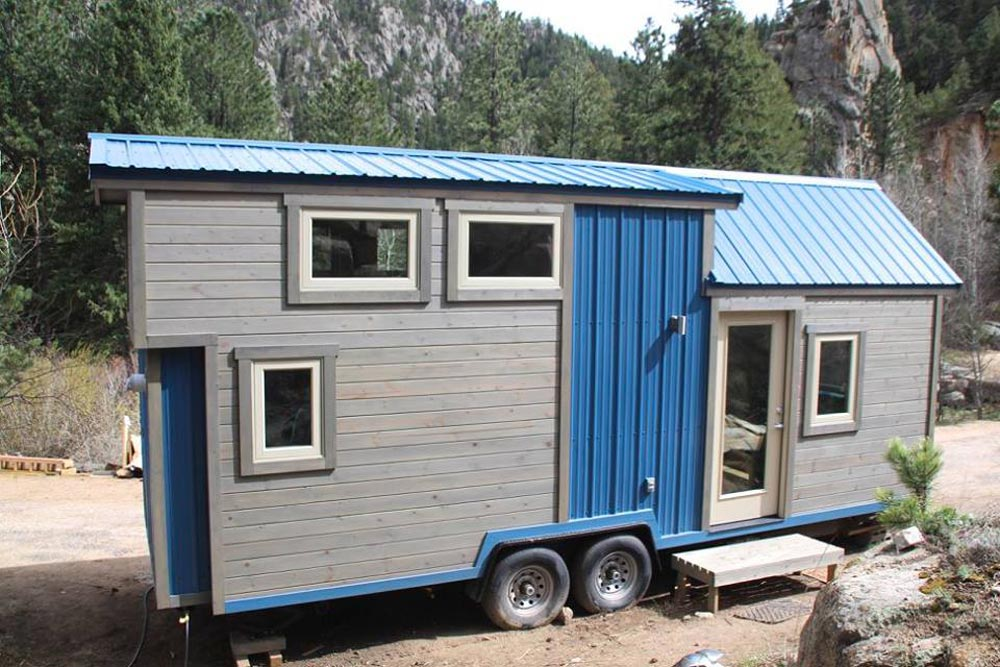 24' Tiny House - Blue Sapphire by Simblissity