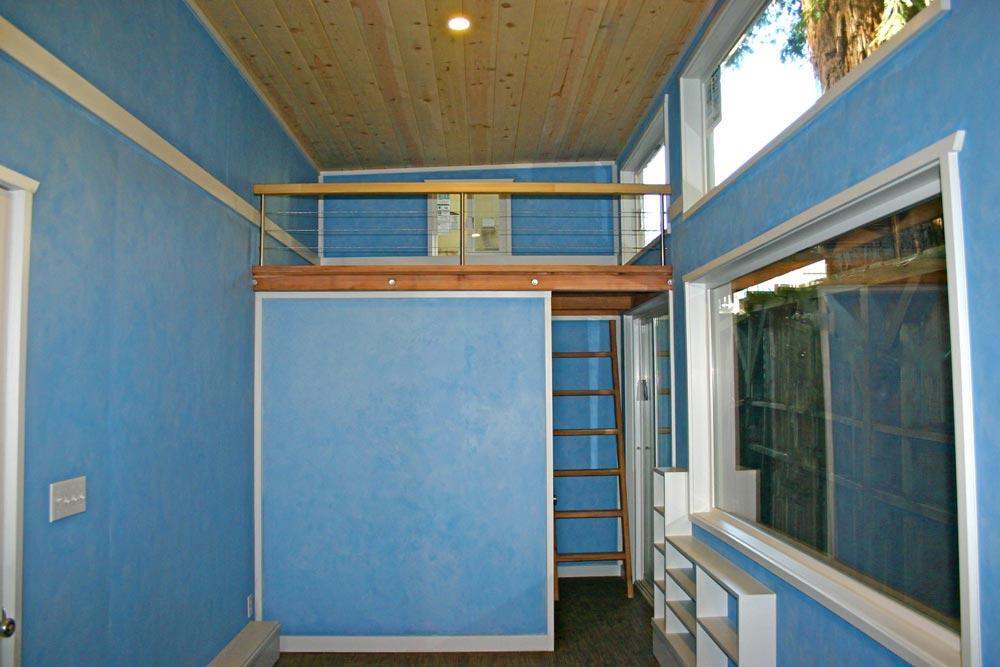 Tiny House Interior - Surf Shack by Molecule Tiny Homes