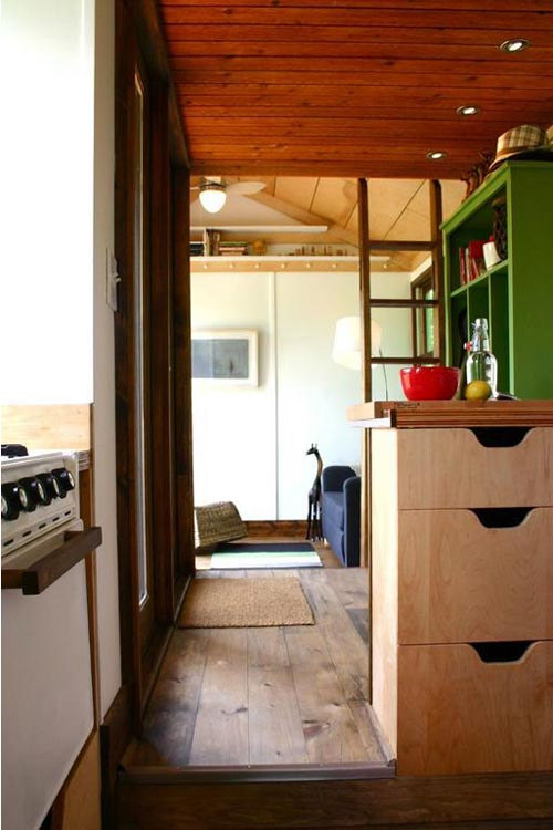 Kitchen Cabinets - Tall Man's Tiny House